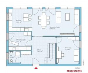 Hanse-Haus-Bad Vilbel-Musterhaus-Grundriss-Erdgeschoss-Variant-45-175